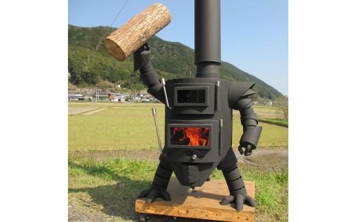 AZ-1】 ロボット型薪ストーブミニ - 高知県土佐清水市 | ふるさと納税 ...