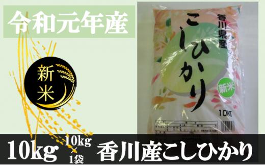 996 令和元年産香川県産こしひかり 10kg 紙袋配送