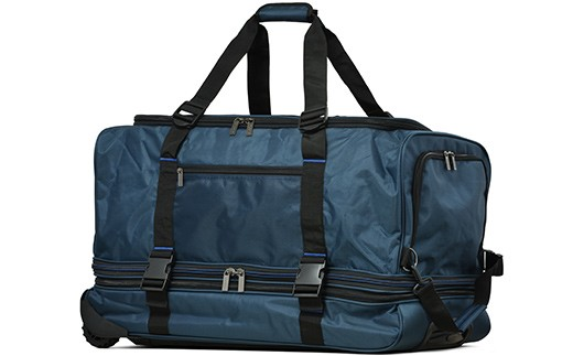 02-AL-3660・[PROEVO] ボストンキャリー スーツケース 大容量 LL(ネイビー×ブラック)
