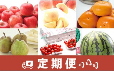 AP80-NT【定期便】山形県産人気フルーツ食べ切りセット  年6回コース【2020年度発送】