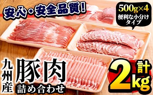 akune-2-7 豚肉詰め合わせ【三九】 2-7