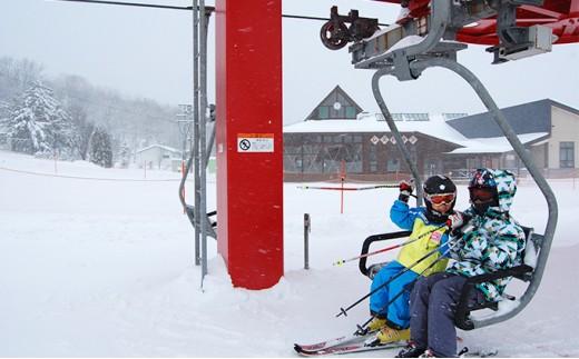 [№5779-0290]日高国際スキー場ナイター共通シーズン券(小人)