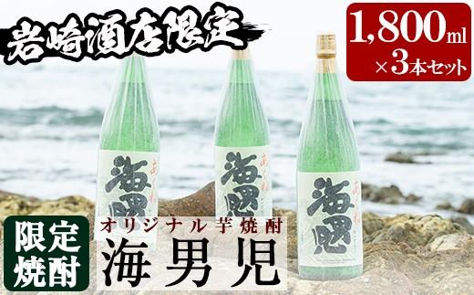 岩崎酒店 海男児3升セット