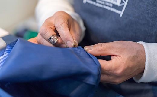 ベテランの縫製職人が細部までこだわり抜いて強く美しい仕上がりにお仕立ていたします