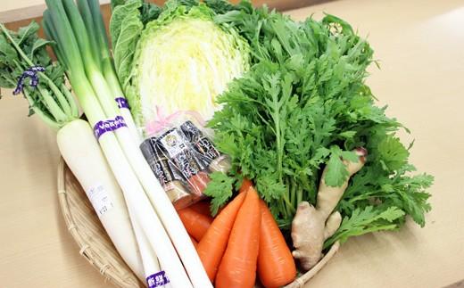 AS07:ふるさと野菜の鍋野菜セット