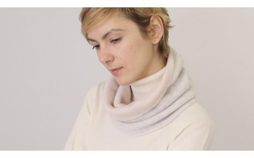 【感動の軽さと温もり】カシミヤ100% 天使のネックウォーマー(UTO)