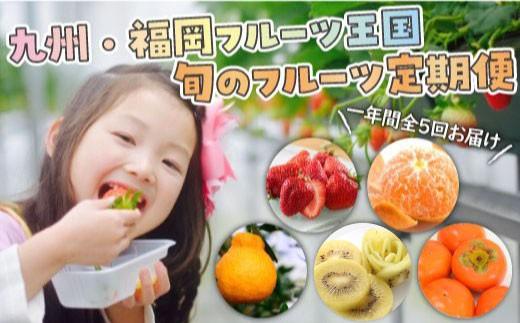 E036.【人気】九州・福岡フルーツ王国.旬のフルーツ定期便Jセット