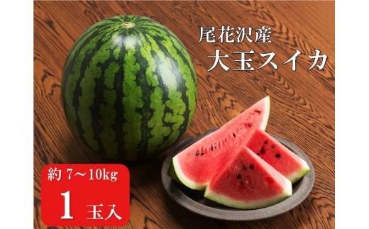 127C.尾花沢産大玉スイカ×1個(7月下旬~8月上旬頃発送)