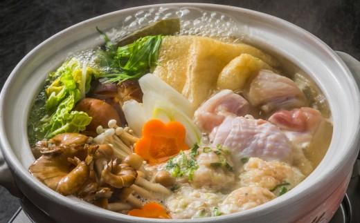 余った出汁で作る寄せ鍋は、具を入れるだけで風味豊かに