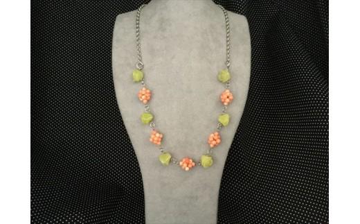 海の秘宝珊瑚:ネックレスA
