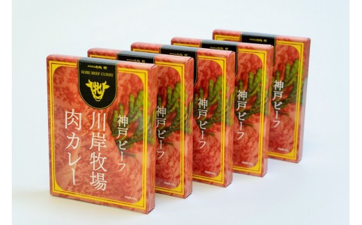 神戸ビーフ肉カレー5食セットです!自分用や、プレゼントにもオススメです♪