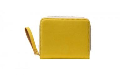 豊岡鞄 TUTUMU Nubuck Z compact Wallet (SW101)マスタード
