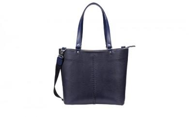 豊岡鞄 YOUTA LIZARD 2WAY トート(YK-30)ネイビー