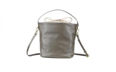 豊岡鞄 TUTUMU Leather cubu (S2800 24-176)グレー
