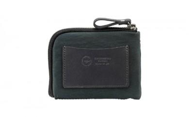 豊岡鞄 TUTUMU mini Wallet (S3300 24-181)カーキ