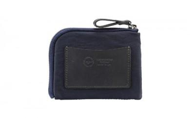 豊岡鞄 TUTUMU mini Wallet (S3300 24-181)ネイビー