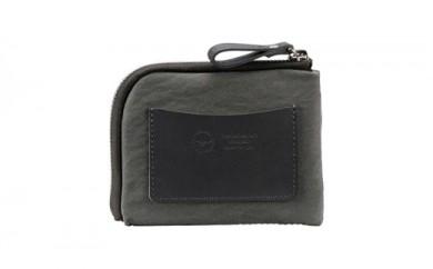 豊岡鞄 TUTUMU mini Wallet (S3300 24-181)グレー