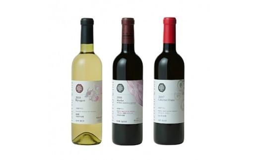 井筒ワイン NACワイン 3本セット【1093996】
