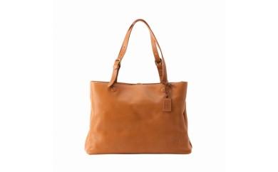 トートバッグ 豊岡鞄 parcel トート(キャメル)