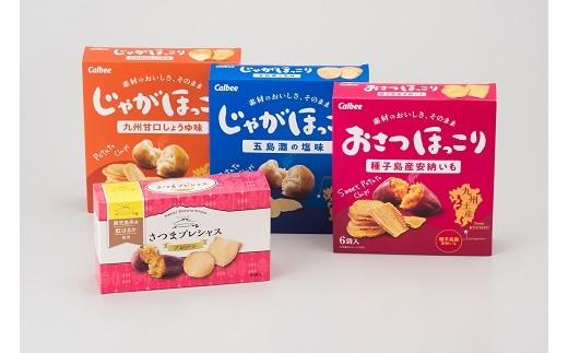 9A-31カルビー鹿児島工場 オリジナルお菓子セット