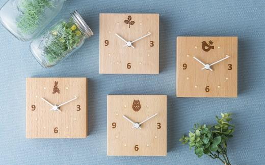 木象嵌 置時計 Forest