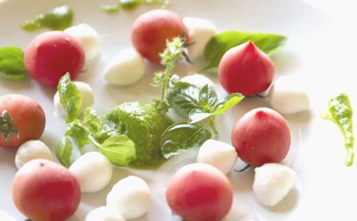 葉にんにくジェノベーゼ温野菜ディップ