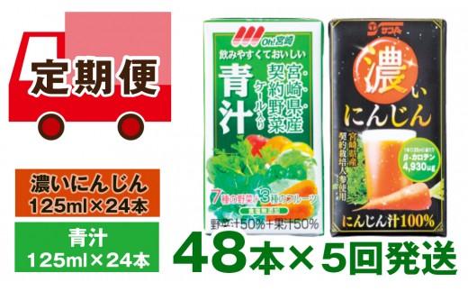 【定期便5回発送】健康ジュースBセット<6-13>