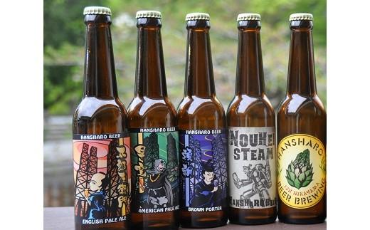 010-045 伊豆のクラフトビール「反射炉ビヤ」おまかせセット(330ml×5本)