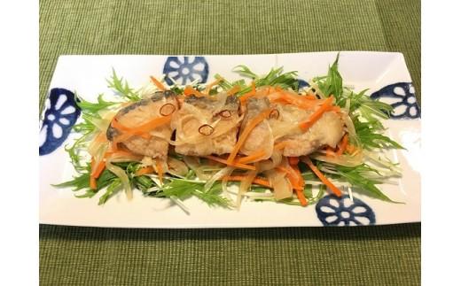 調理例1 銀鮭の南蛮漬け