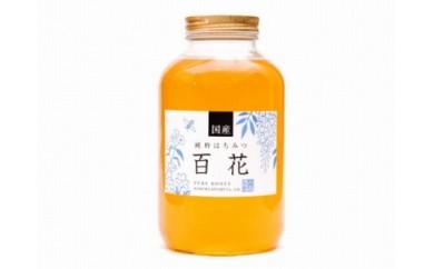 <養蜂場からお届け>国産百花蜂蜜(2400g)
