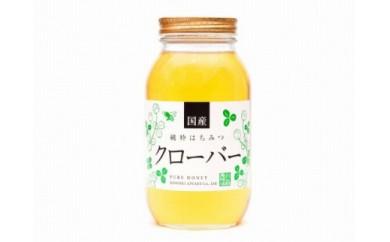 <養蜂場からお届け>国産クローバー蜂蜜(1200g)