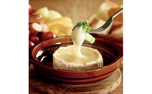 カマンベールチーズを使ったお料理のイメージ
