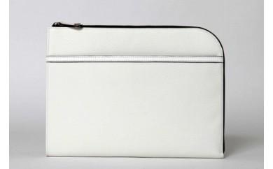 クラッチバック豊岡鞄CJTB-006(ホワイト)
