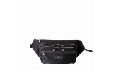 ウエストバッグ豊岡鞄CSRC-003(ブラック)