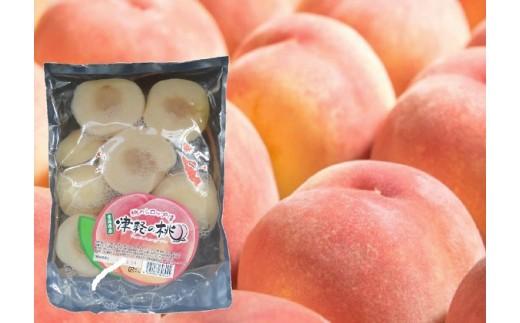[№5731-0373]津軽の桃 桃のシロップ漬1.5kg