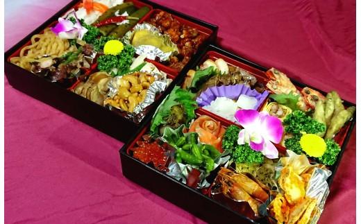 【12/31にお届け】特製 中華 2段重 おせち料理 冷蔵 2021_6801