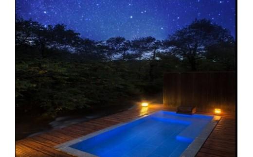 極上の時間をお過ごし頂けるプライベート露天風呂