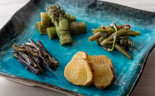 西和賀の漬物 4種セット