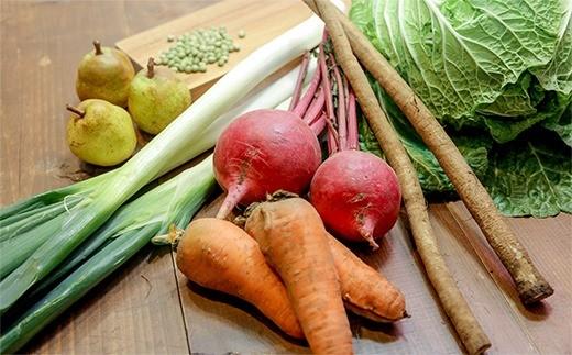 標高が高く寒暖差があり、日照時間が長い塩尻市で育った野菜は味が濃く、おいしいと評判です。生産品目数が多いのも特徴の一つ。
