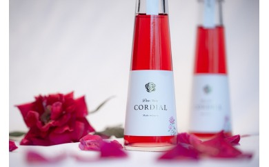Dew Rose CORDIAL(ローズシロップ)