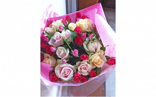 [№5790-0682]バラの花束