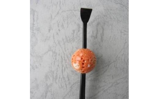 珊瑚職人館の珊瑚の和小物(k4)