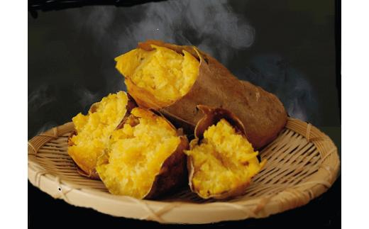 調理をすれば、中身は【本場の安納地区産の自慢の安納いも】の美味しさです!ぜひ、味わってみてください。