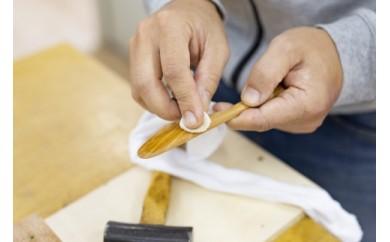 イギリス仕込みの家具職人直伝 「自分だけのバターナイフ」づくり体験(2名様)