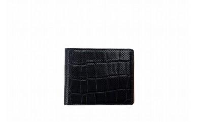 二つ折り財布 豊岡財布 TRV0003W-50(ネイビー)
