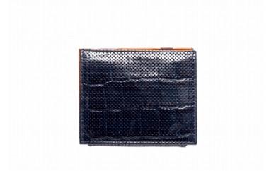 札ばさみ/コインケース 豊岡財布 TRV0006W-50(ネイビー)