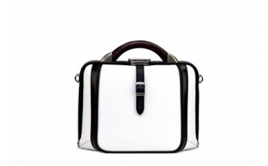 2wayダレスバッグ 豊岡鞄 DS0-TE-42(ホワイト)