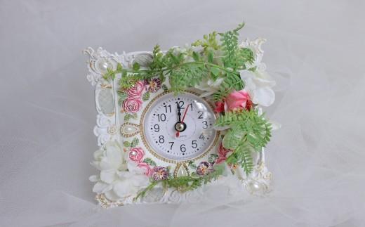 アートフラワーの花時計