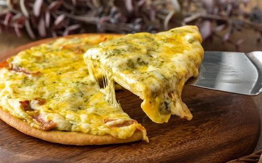 6インチピザ(バジルボンレス)