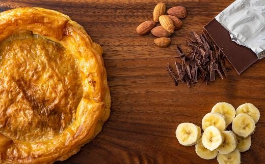 バナナチョコレートパイ